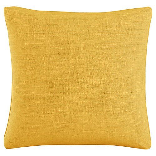 Audrey 20x20 Pillow, French Yellow