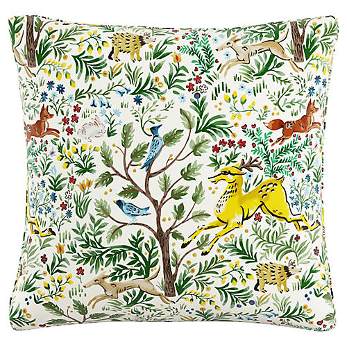 Alessandra 20x20 Pillow, Citrus