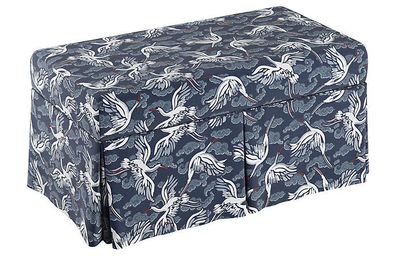 Hayworth Storage Bench, Cranes