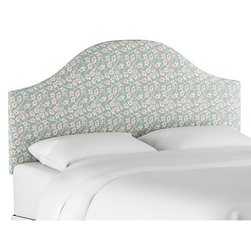 Libby Headboard, Seafoam Linen