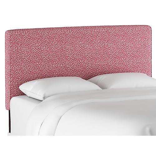 Macy Headboard, Pink Leopard