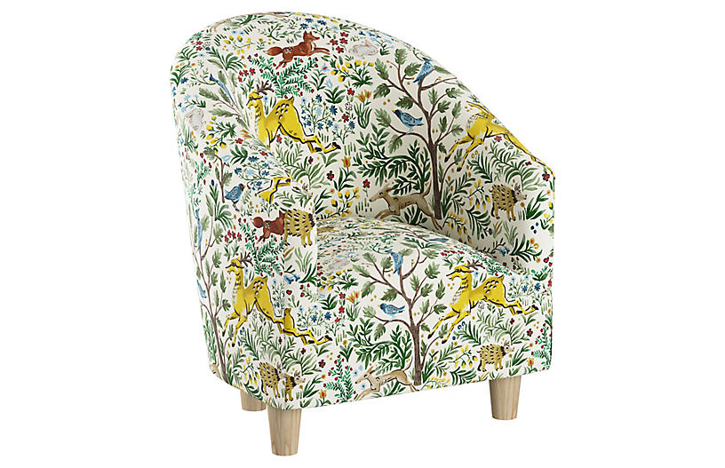 Ashlee Kids' Chair, Citrus