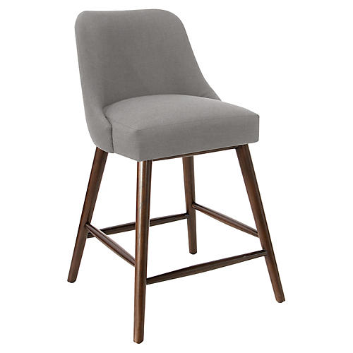 Barron Counter Stool, Gray