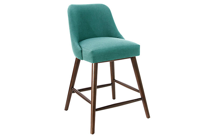 Barron Counter Stool Teal Barstools Counter Stools