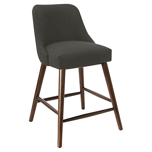 Barron Counter Stool, Charcoal