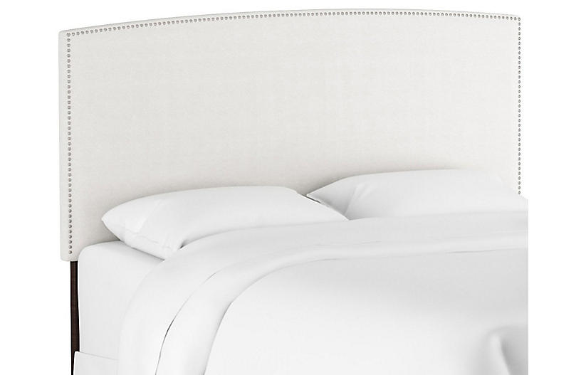 Everly Headboard, White