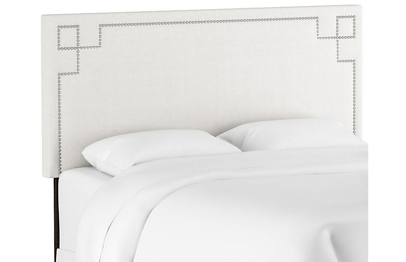 Aiden Headboard, White