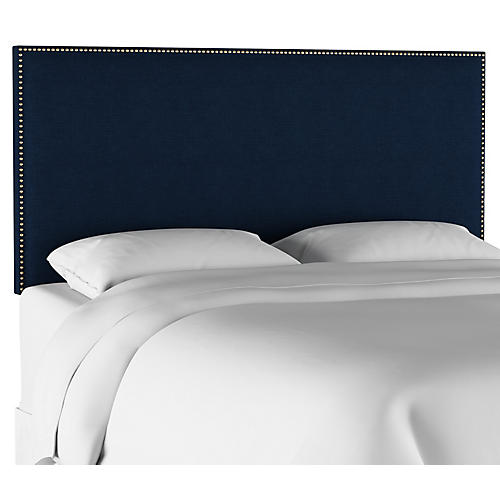 Loren Kids' Headboard, Navy