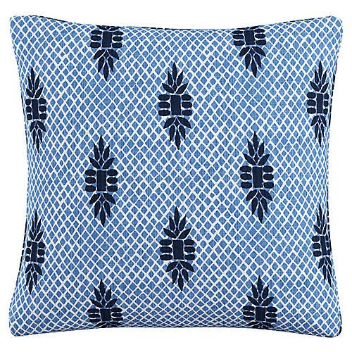 Hanover 20x20 Pillow, Boca Medallion