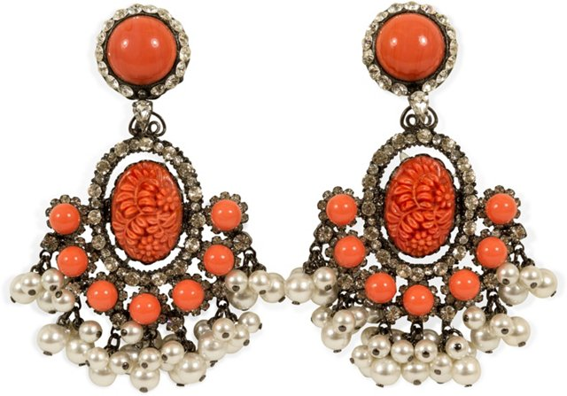 Lawrence Vrba Chandelier Earrings III