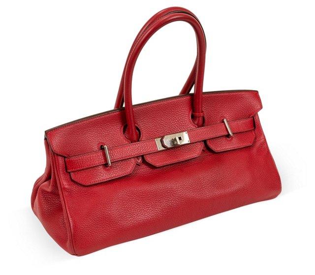 Hermès Red Togo JPG Birkin Bag