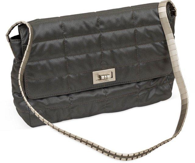 Chanel Karl Lagerfeld Metallic Bag