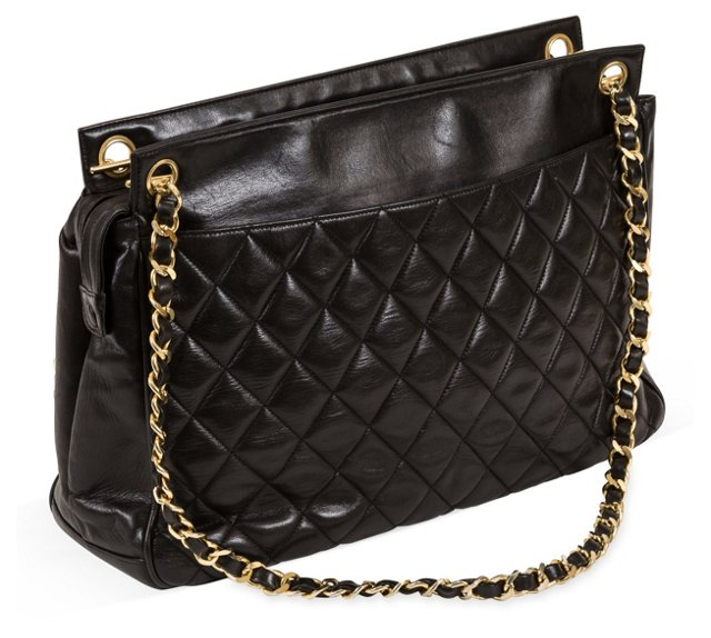 Large Chanel Quilted Tote