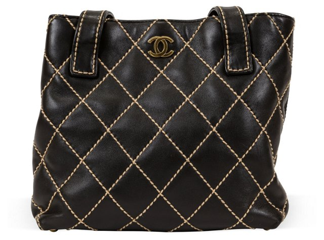 Chanel Diamond-Quilted Tote
