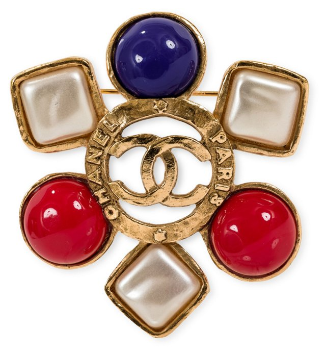 Chanel Gripoix Pin