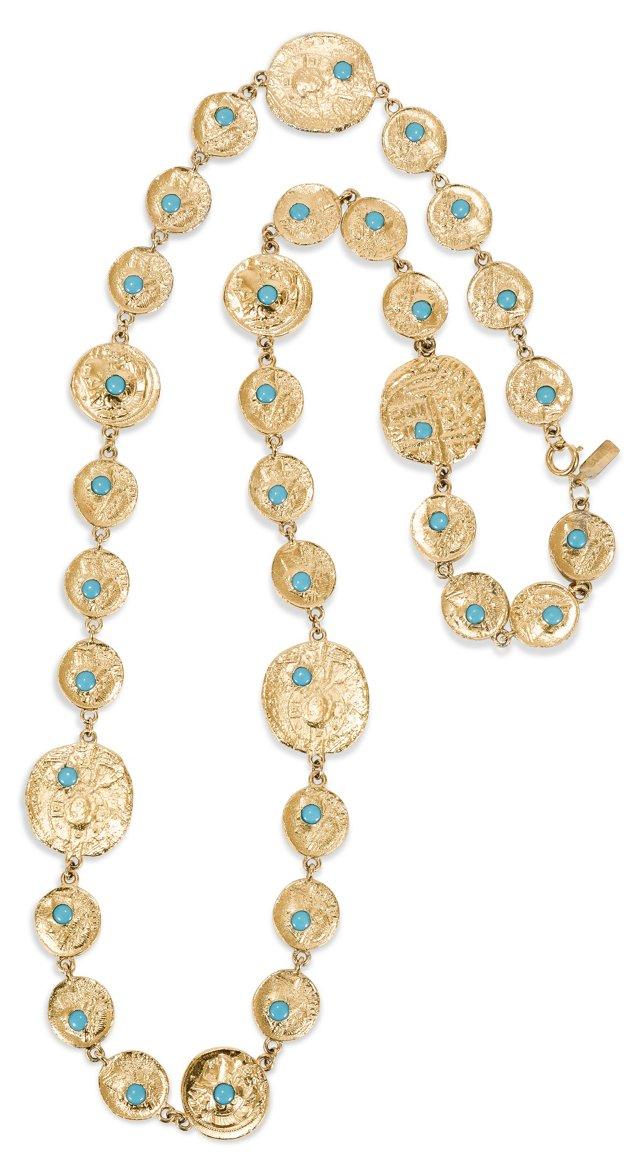 Pauline Rader Coin Necklace