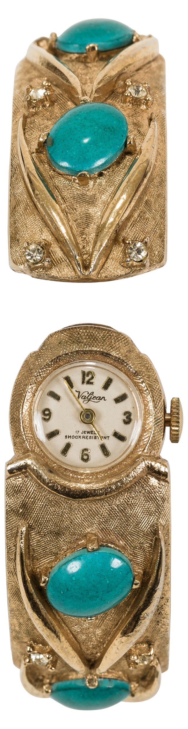 Vintage Gold & Turquoise Watch