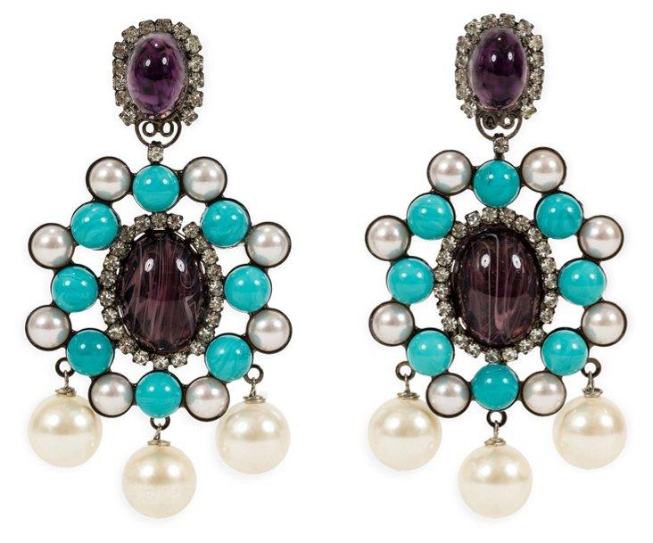 Vrba Drop Earrings II
