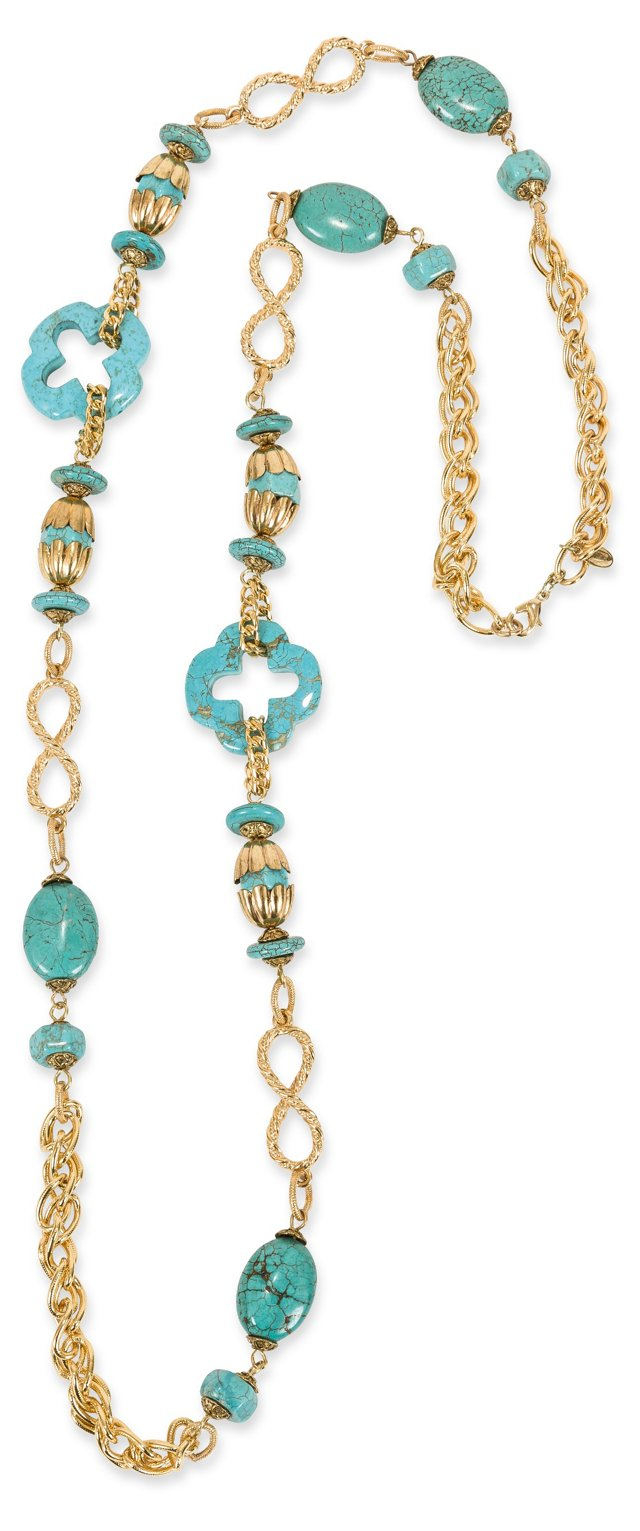 Vrba Turquoise Necklace
