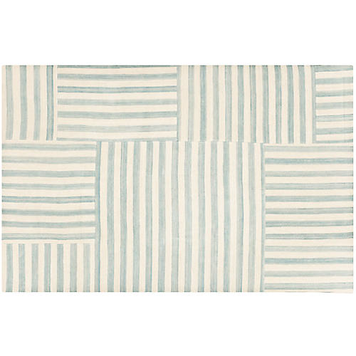 Canyon Stripe Patch Rug