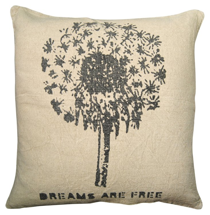 Dream are Free Pillow 24x24