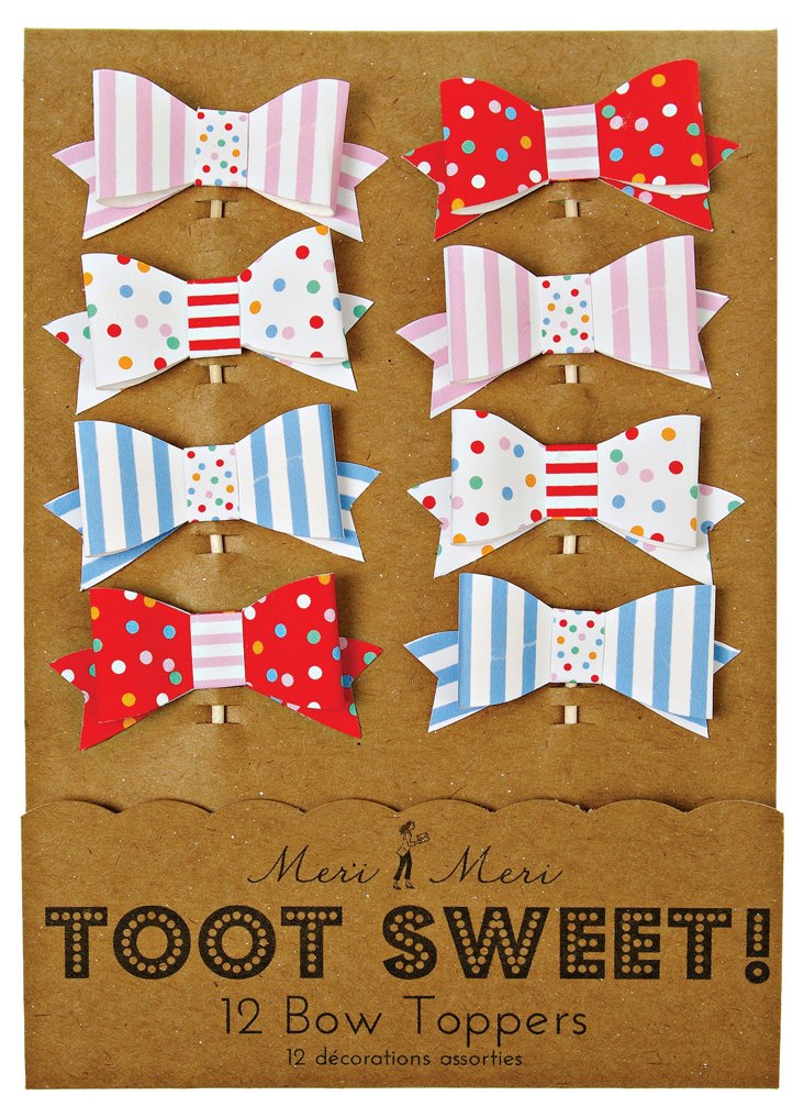 S/48 Toot Sweet Bow Toppers