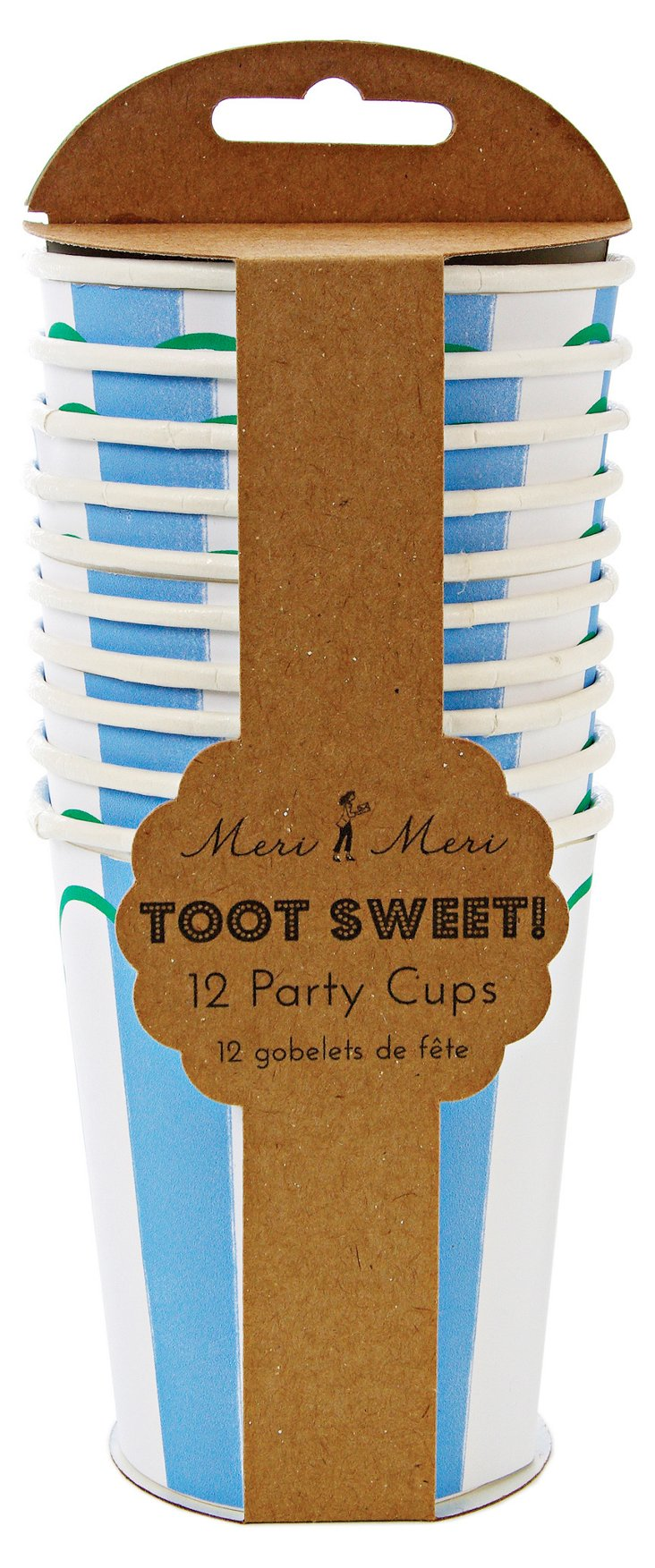 S/48 Toot Sweet Party Cups, Blue