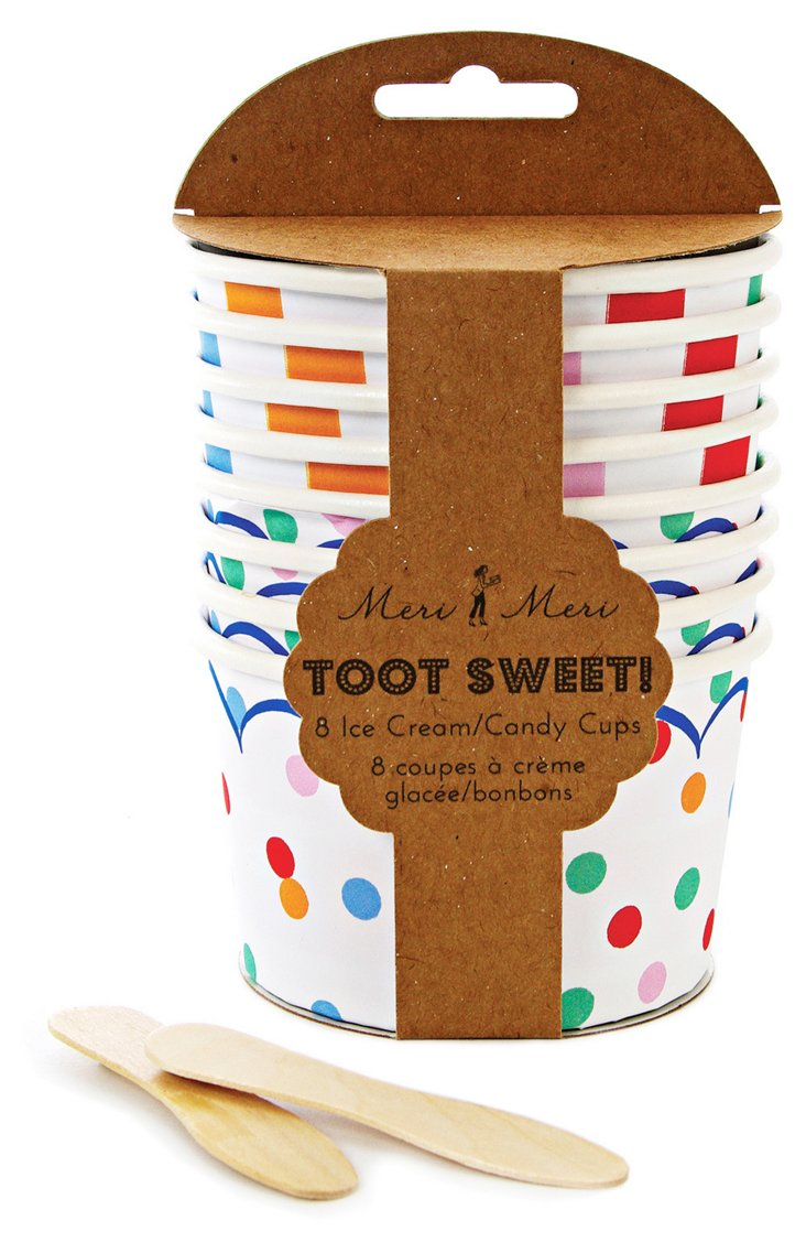 S/32 Toot Sweet Candy/Ice Cream Cups