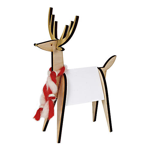 S/8 Reindeer Place Cards