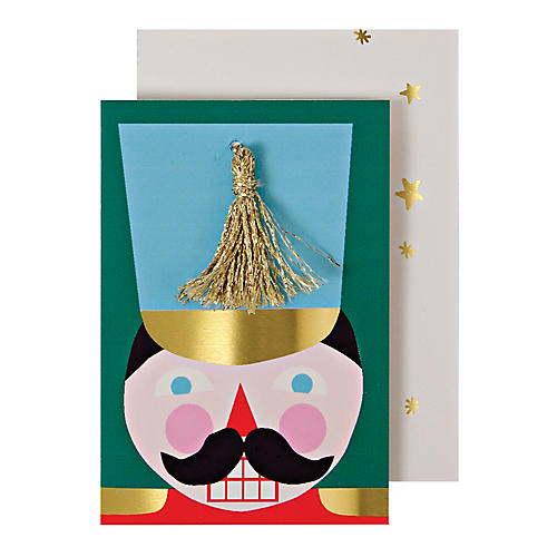 S/12 Nutcracker Enclosure Cards