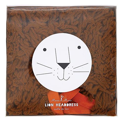 Lion Headdress, Brown
