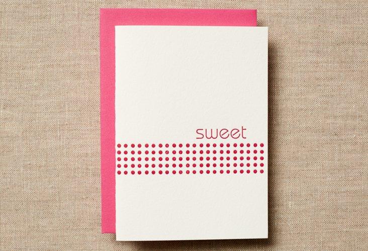 Set of 12 Sweet Dot Cards