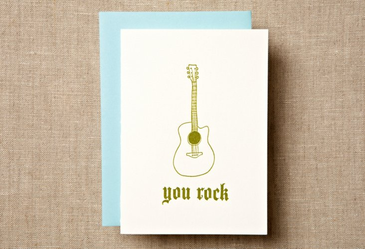 S/12 You Rock Note Cards