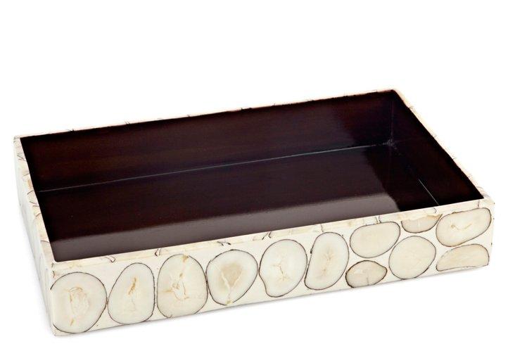 Tagua Veneer Vanity Tray