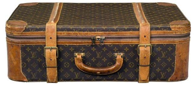 Vintage Louis Vuitton Logo Luggage I