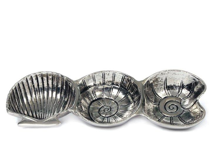 Coquilles Trio Platter