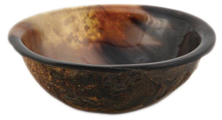Horn Tidbit Bowl