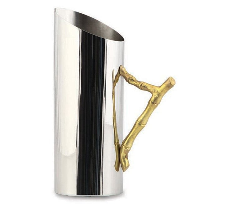 Bamboo Handled Pitcher