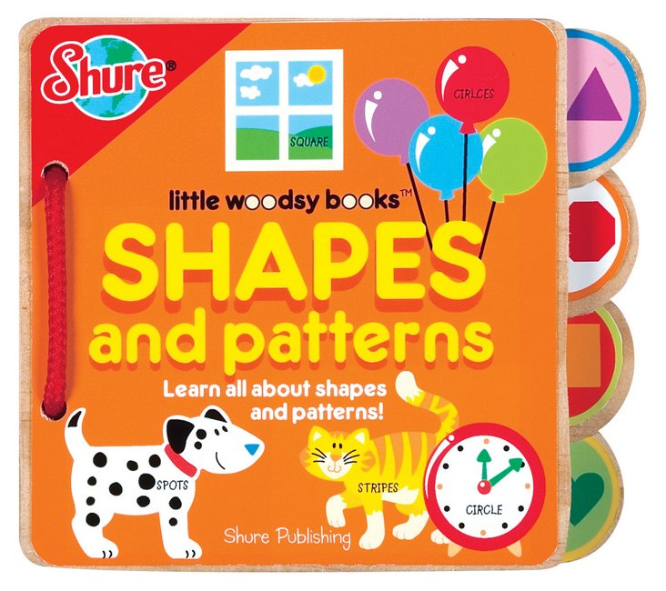 Shapes and Patterns Woodsy Book