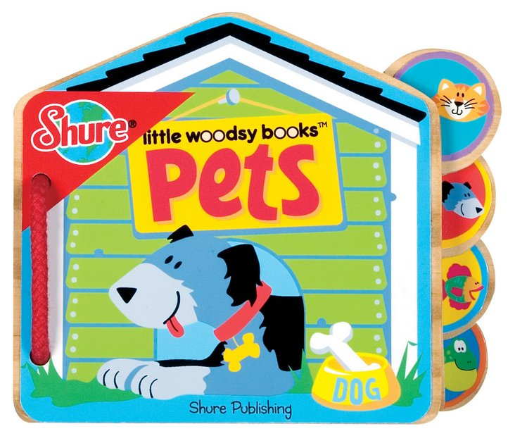 Pets Woodsy Book
