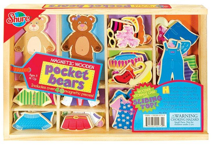 Pocket Bears Dress-Up Activity Set