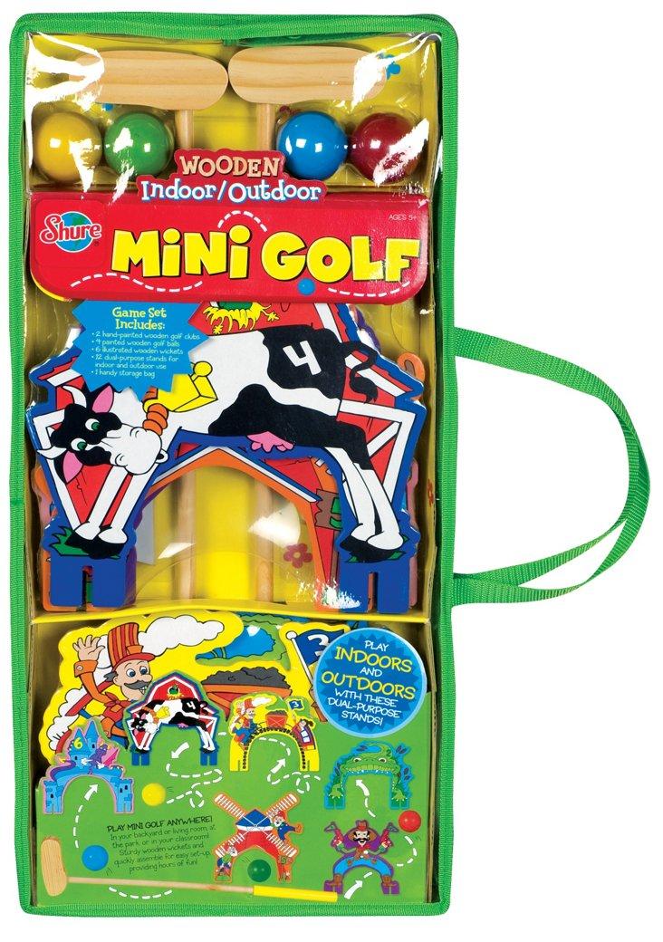 Mini Golf Wooden Set
