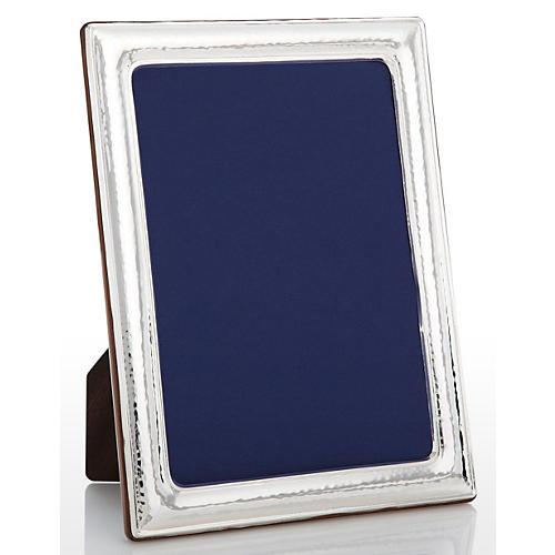 925 Sterling-Silver Hammered Frame, 5x7