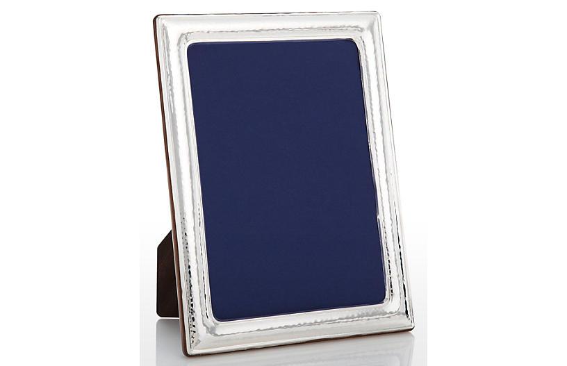 Sterling Light Hammered Frame, 5x7