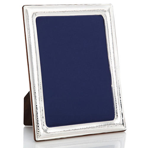 925 Sterling-Silver Hammered Frame, 8x10