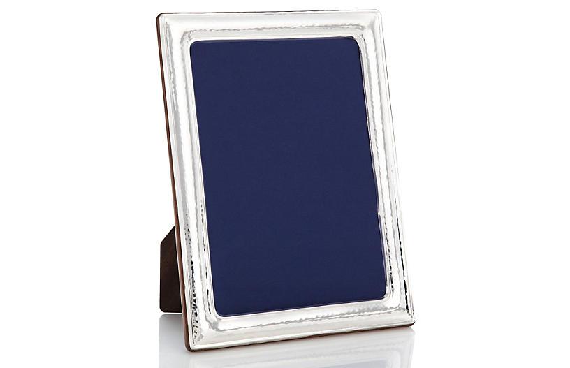 Sterling Light Hammered Frame, 8x10