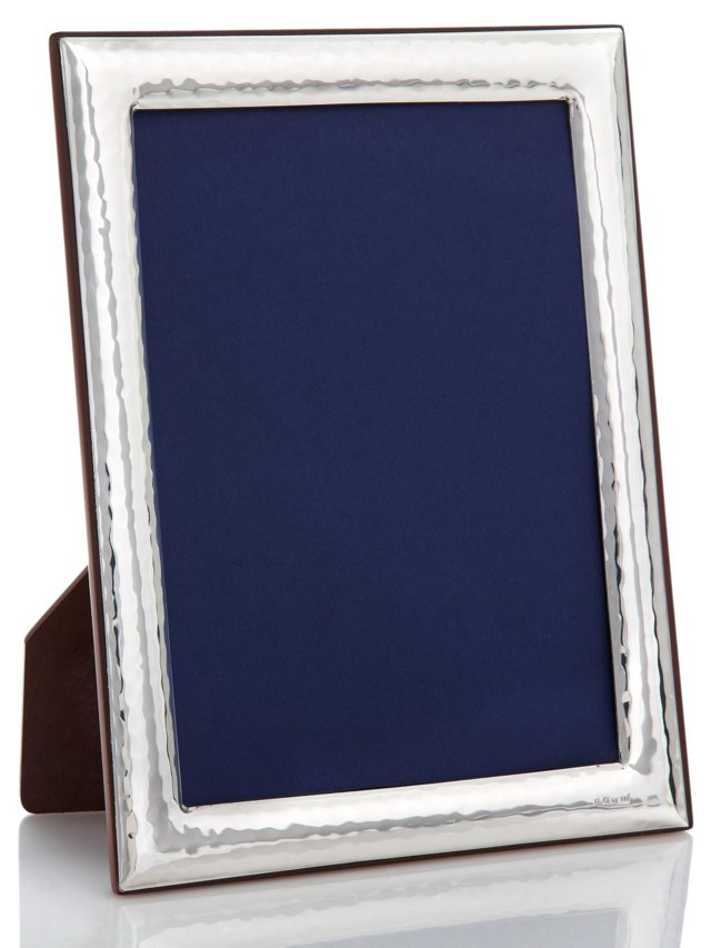 Sterling Deco Hammered Frame, 5x7
