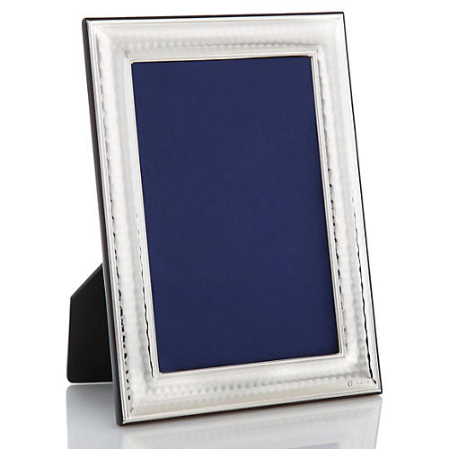 Sterling-Silver Hammered Frame, 5x7