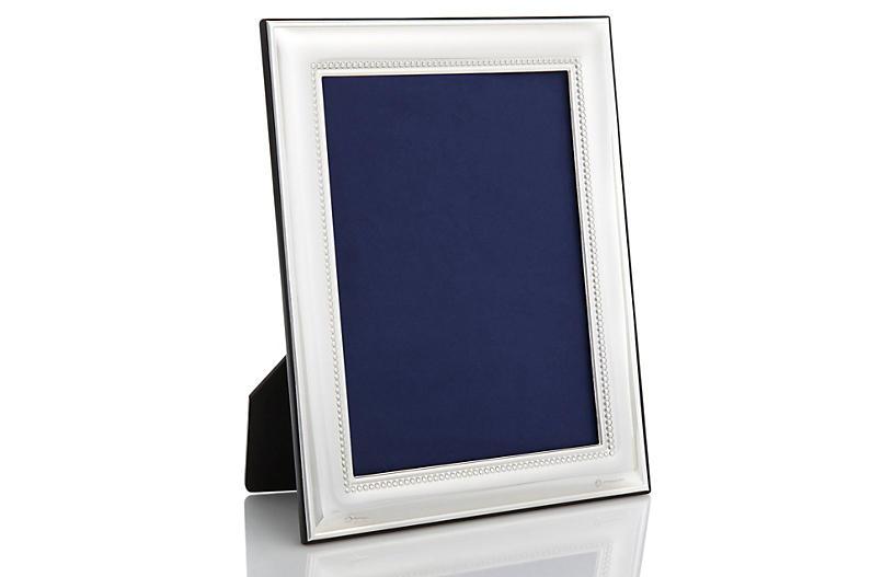 Sterling Beaded Frame, 5x7