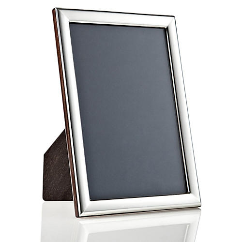 925 Sterling Plain Deco Frame